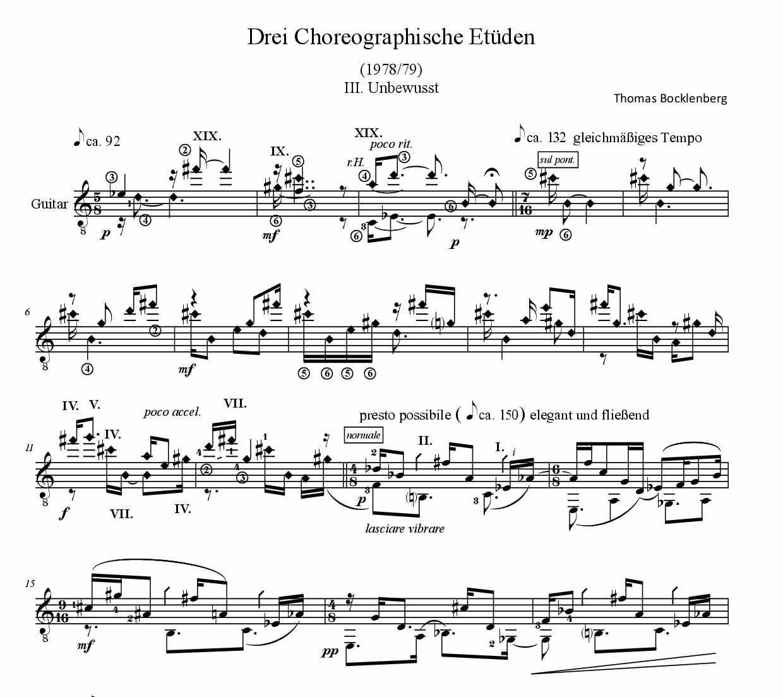 Unbewusst - Anfang aus 3_Choreographische Etüden