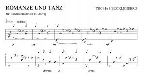 Romanze & Tanz_Anfang