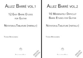 Allez Barré Vol. 1 & 2 - englisch edition
