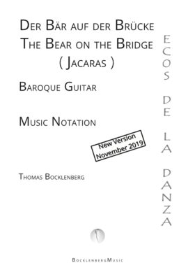 Cover: The Bear on the Bridge (Jacaras) for Baroque Guitar